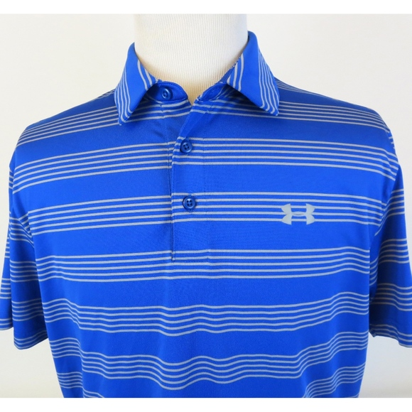Under Armour Other - Under Armour Heat Gear Loose Large Golf Polo Shirt